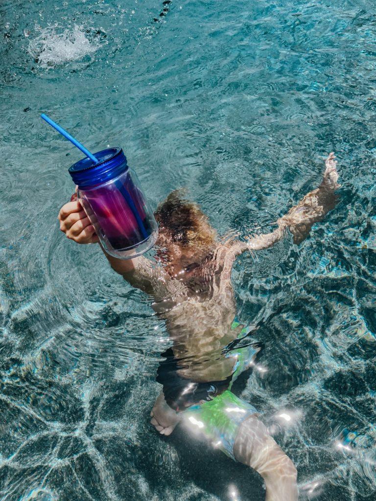 pool days, hydration